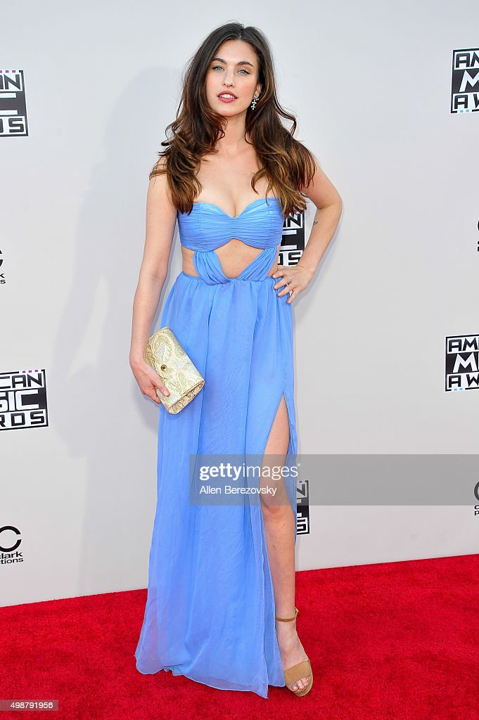 Recording artist Rainey Qualley arrives at the 2015 American Music Awards at Microsoft Theater on November 22 2015 in Los Angeles California