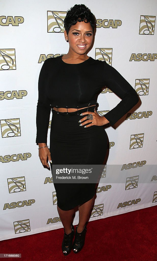 Recording artist RaVaughn Brown attends The American Society of Composers, Authors and Publishers (ASCAP) 26th Annual Rhythm & Soul Music Awards at The Beverly Hilton Hotel on June 27, 2013 in Beverly Hills, California.