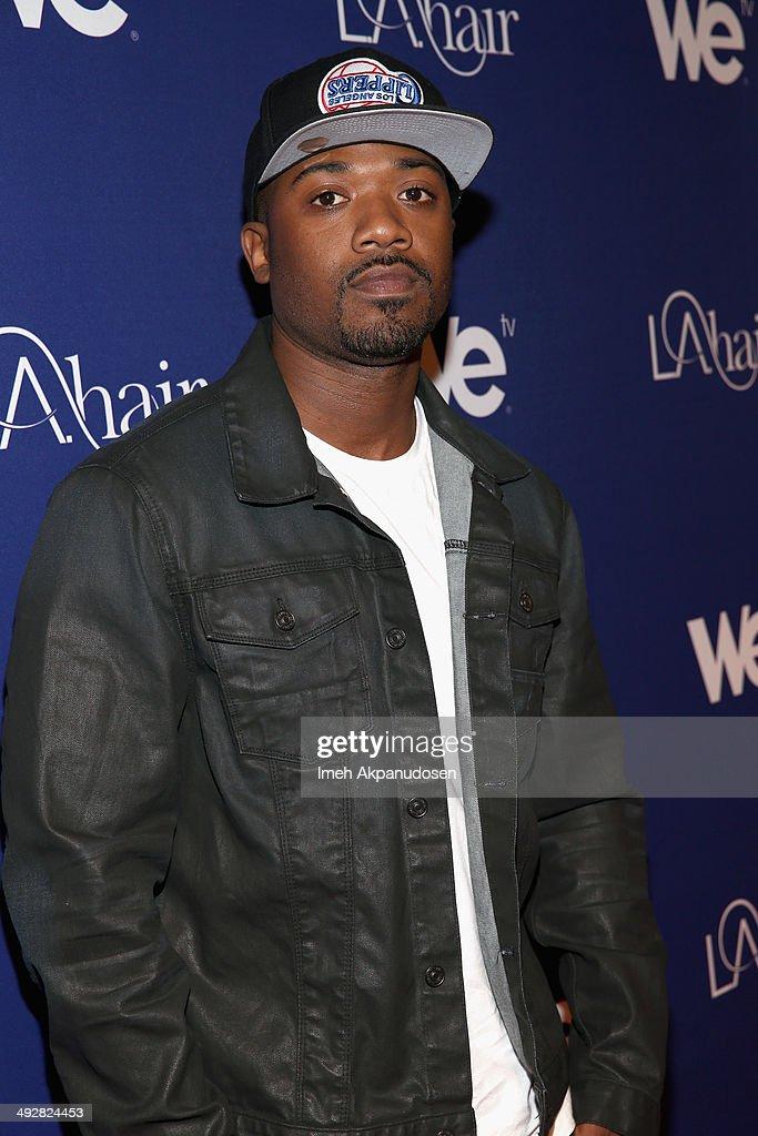 Recording artist Ray J attends WE tv's LA Hair Season 3 Premiere Event on May 21 2014 in Santa Monica California