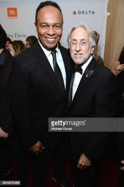 Recording artist Ray Parker Jr and President/CEO of The Recording Academy and GRAMMY Foundation President/CEO Neil Portnow attend PreGRAMMY Gala and...