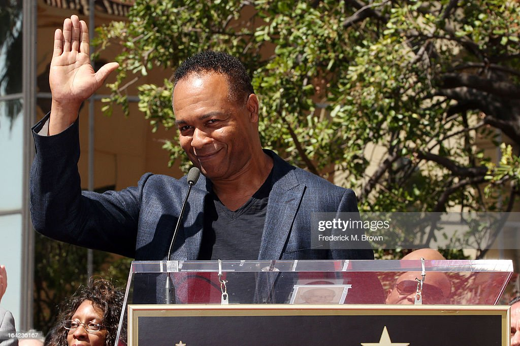 Recording artist Ray Parker, Jr., speaks during the ceremony honoring The Funk Brothers on The Hollywood Walk Of Fame on March 21, 2013 in Hollywood, California.