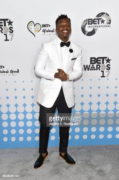 Recording artist Ray Vanny attends the 2017 BET International Awards Presentation at Microsoft Theater on June 24 2017 in Los Angeles California