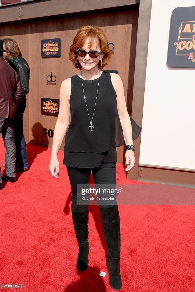 Recording artist Reba McEntire attends the 2016 American Country Countdown Awards at The Forum on May 1, 2016 in Inglewood, California.