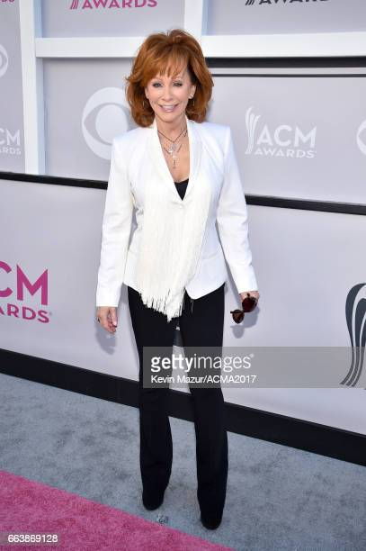 Recording artist Reba McEntire attends the 52nd Academy Of Country Music Awards at Toshiba Plaza on April 2 2017 in Las Vegas Nevada