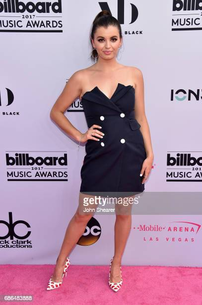 Recording artist Rebecca Black attends the 2017 Billboard Music Awards at TMobile Arena on May 21 2017 in Las Vegas Nevada