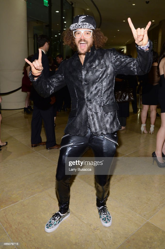 Recording artist <a gi-track='captionPersonalityLinkClicked' href=/galleries/search?phrase=Redfoo&family=editorial&specificpeople=5857552 ng-click='$event.stopPropagation()'>Redfoo</a> attends the 56th annual GRAMMY Awards Pre-GRAMMY Gala and Salute to Industry Icons honoring Lucian Grainge at The Beverly Hilton on January 25, 2014 in Beverly Hills, California.