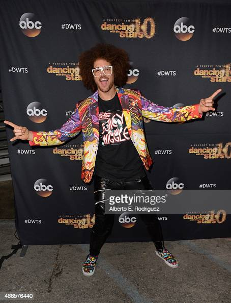 Recording artist Redfoo attends the premiere of ABC's 'Dancing With The Stars' season 20 at HYDE Sunset Kitchen Cocktails on March 16 2015 in West...