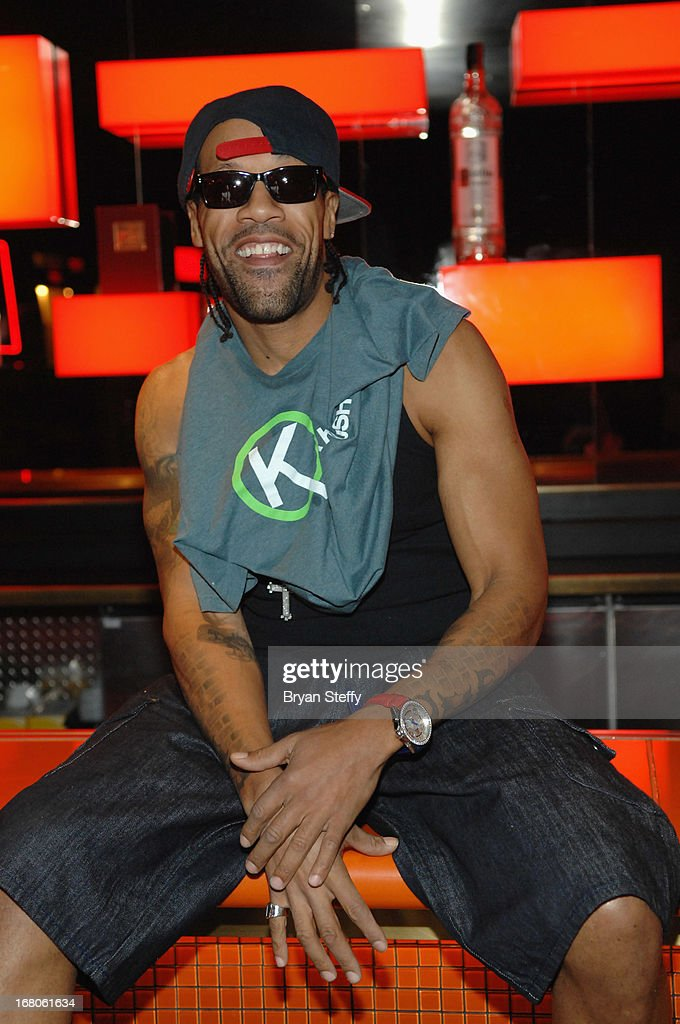 Recording artist <a gi-track='captionPersonalityLinkClicked' href=/galleries/search?phrase=Redman&family=editorial&specificpeople=710884 ng-click='$event.stopPropagation()'>Redman</a> arrives to perform during Ditch Weekend at the Palms Pool & Bungalows at the Palms Casino Resort on May 4, 2013 in Las Vegas, Nevada.