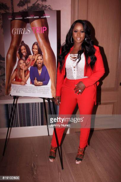 Recording artist Remy Ma hosts the 'Girls Trip' screening at the Whitby Hotel on July 19 2017 in New York City