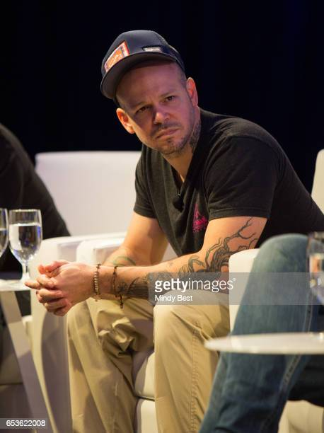 Recording artist Rene Perez Joglar aka Residente speaks onstage at 'Digital Revolution A Look at Music's New Frontier' during 2017 SXSW Conference...