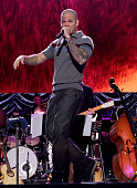 Recording artist Rene Perez Joglar performs onstage during the 2014 Person of the Year honoring Joan Manuel Serrat at the Mandalay Bay Events Center...
