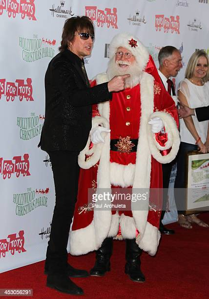 Recording Artist Richie Sambora attends The Hollywood Christmas Parade benefiting the Toys For Tots Foundation on December 1 2013 in Hollywood...
