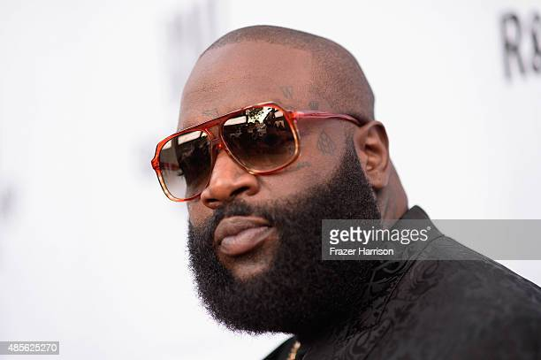 Recording artist Rick Ross attends the 2015 BMI RB/HipHop Awards at Saban Theatre on August 28 2015 in Beverly Hills California