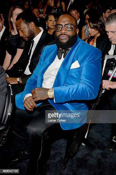 Recording Artist Rick Ross attends The 57th Annual GRAMMY Awards at the STAPLES Center on February 8 2015 in Los Angeles California