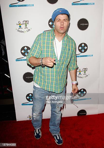 Recording Artist Ricky J attends the 'Lights Camera Cure 2012 Hollywood DanceAThon' at Avalon on January 29 2012 in Hollywood California