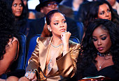 Recording artist Rihanna attends the 2015 BET Awards at the Microsoft Theater on June 28 2015 in Los Angeles California