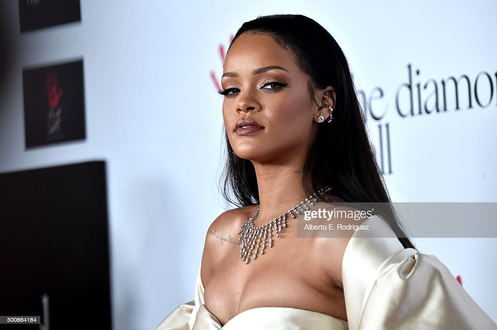 Rihanna And The Clara Lionel Foundation Host 2nd Annual Diamond Ball - Arrivals