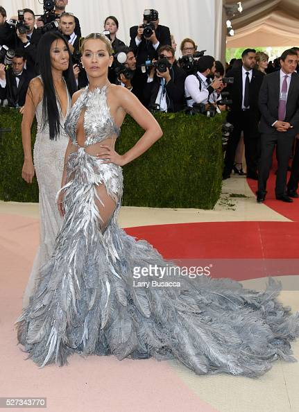 Recording artist Rita Ora attends the 'Manus x Machina Fashion In An Age Of Technology' Costume Institute Gala at Metropolitan Museum of Art on May 2...