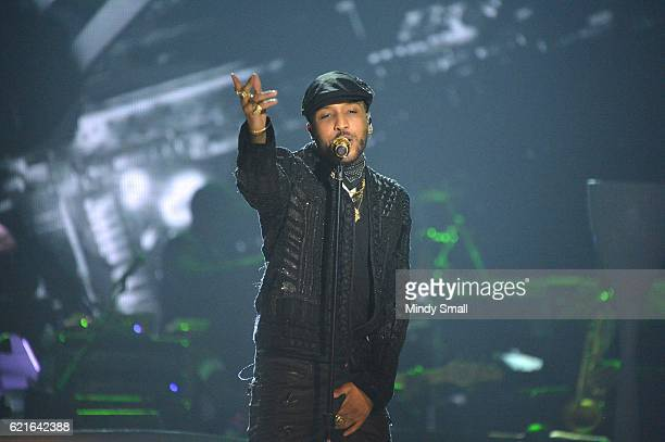Recording artist Ro James performs onstage during the 2016 Soul Train Music Awards at the Orleans Arena on November 6 2016 in Las Vegas Nevada