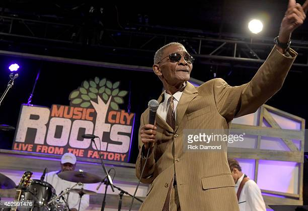 Recording Artist Robert Knight performs during Music City Roots Night Train To Nashville 10th Anniversary in Liberty Hall at The Factory on July 30...