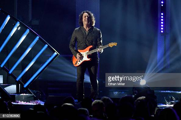 Recording artist Roland Orzabal of music group Tears for Fears performs onstage at the 2016 iHeartRadio Music Festival at TMobile Arena on September...