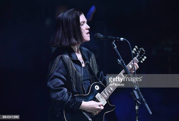 Recording artist Romy Madley Croft of The xx performs onstage at What Stage during Day 2 of the 2017 Bonnaroo Arts And Music Festival on June 9 2017...