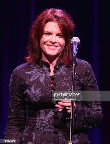 Recording artist Rosanne Cash performs onstage during the 'Nashville 20' presentation at the PBS portion of the 2013 Summer Television Critics...