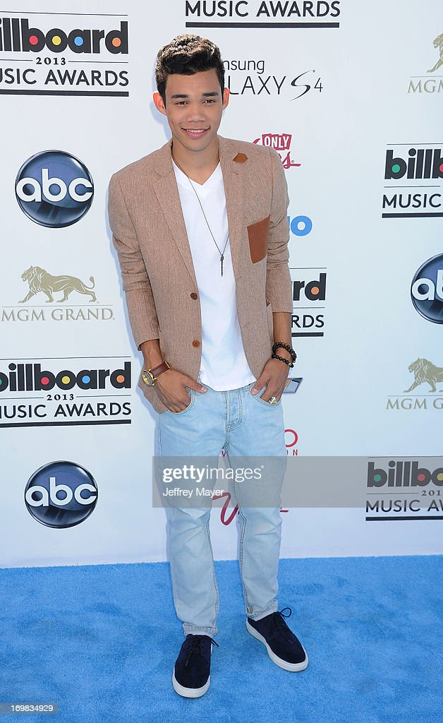 Recording Artist Roshon Fegan arrives at the 2013 Billboard Music Awards at the MGM Grand Garden Arena on May 19, 2013 in Las Vegas, Nevada.