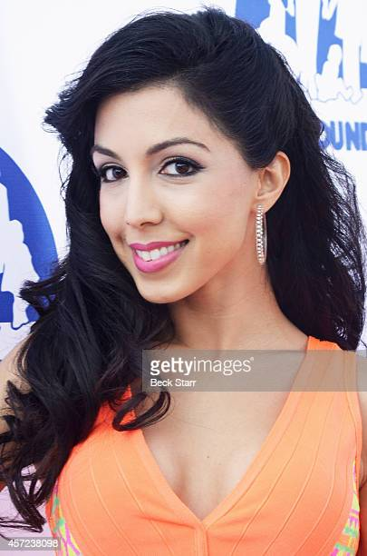 Recording Artist Roxy Darr attends the red carpet and building renaming celebration reception at Jeffrey Foundation Main Building on October 14 2014...