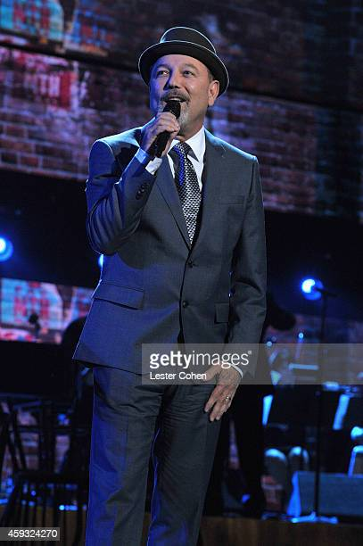 Recording artist Ruben Blades performs onstage during the 15th annual Latin GRAMMY Awards at the MGM Grand Garden Arena on November 20 2014 in Las...