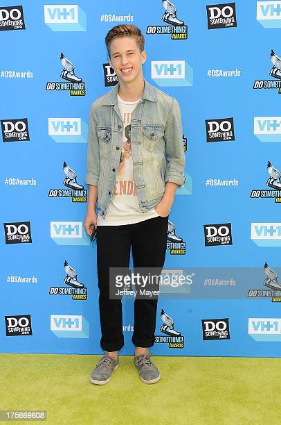Recording artist Ryan Beatty arrives at the DoSomethingorg and VH1's 2013 Do Something Awards at Avalon on July 31 2013 in Hollywood California