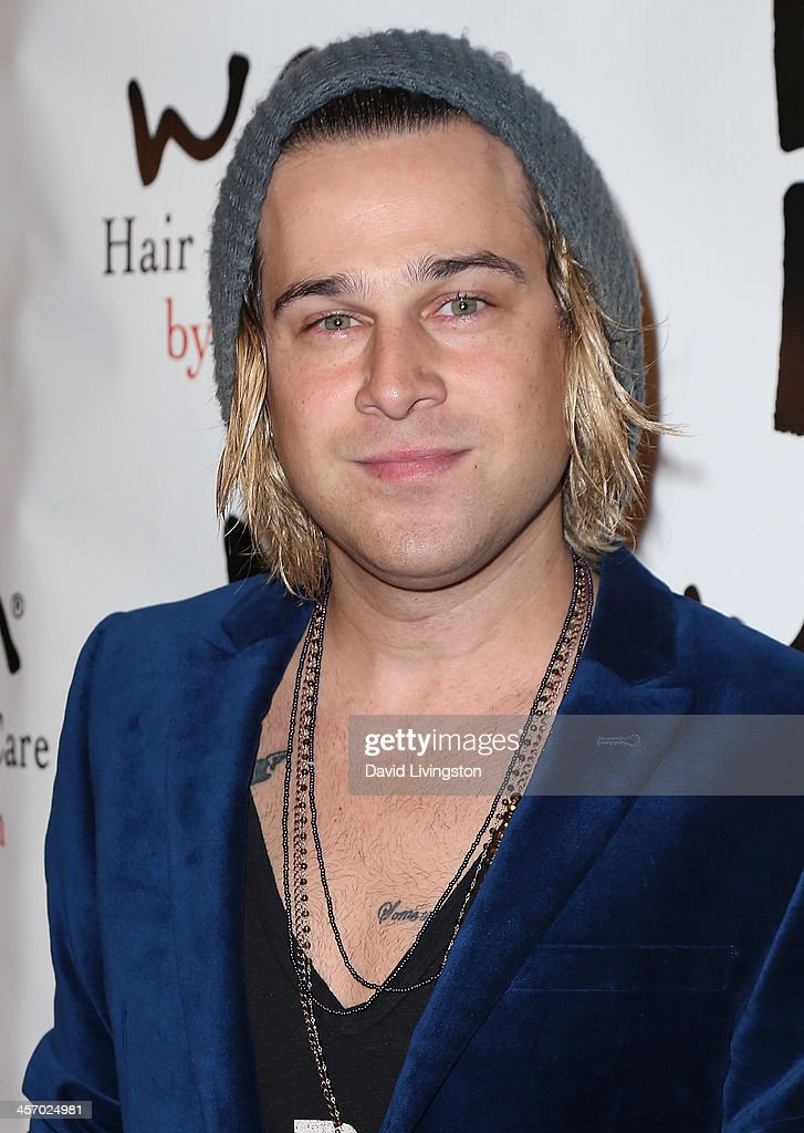 Recording artist <a gi-track='captionPersonalityLinkClicked' href=/galleries/search?phrase=Ryan+Cabrera&family=editorial&specificpeople=201482 ng-click='$event.stopPropagation()'>Ryan Cabrera</a> attends the NOH8 Campaign 5th Anniversary Celebration at Avalon on December 15, 2013 in Hollywood, California.