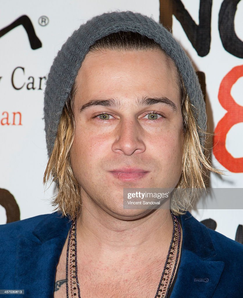 Recording artist <a gi-track='captionPersonalityLinkClicked' href=/galleries/search?phrase=Ryan+Cabrera&family=editorial&specificpeople=201482 ng-click='$event.stopPropagation()'>Ryan Cabrera</a> attends the NOH8 Campaign's 5th Annual Anniversary Celebration at Avalon on December 15, 2013 in Hollywood, California.