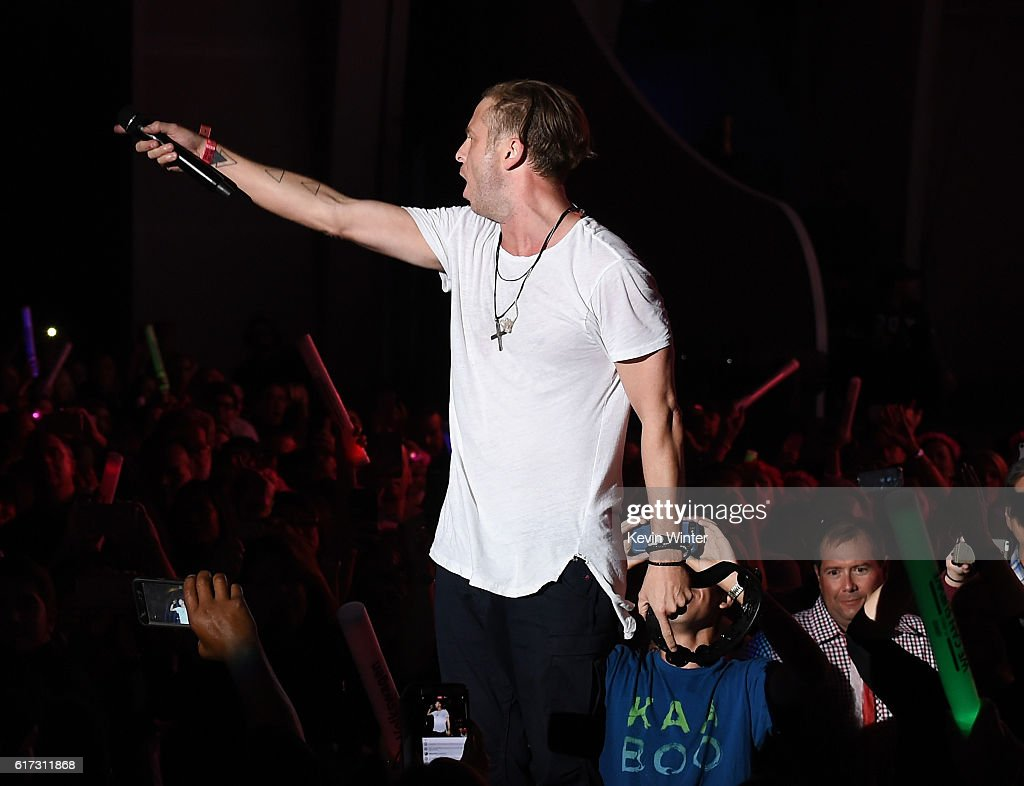 Recording artist Ryan Tedder of OneRepublic performs onstage during CBS RADIO's fourth annual We Can Survive concert at the Hollywood Bowl on October 22, 2016 in Hollywood, California.