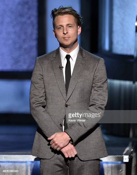 Recording artist Ryan Tedder onstage during The 57th Annual GRAMMY Awards at the STAPLES Center on February 8 2015 in Los Angeles California