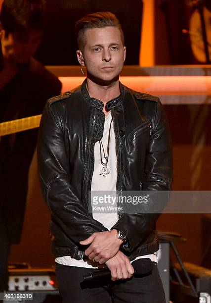 Recording artist Ryan Tedder performs onstage during Stevie Wonder Songs In The Key Of Life An AllStar GRAMMY Salute at Nokia Theatre LA Live on...