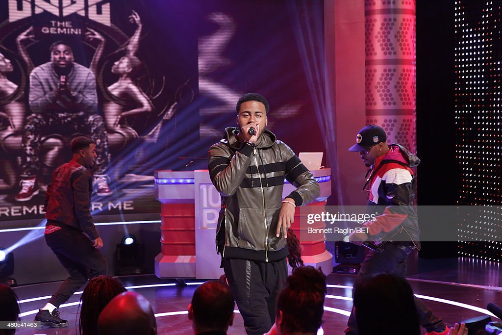 Recording artist Sage The Gemini performs during 106 & Park at BET studio on March 24, 2014 in New York City.