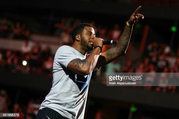 Recording artist Sage the Gemini performs onstage at Power 106 FM's Powerhouse at Honda Center on May 17 2014 in Anaheim California