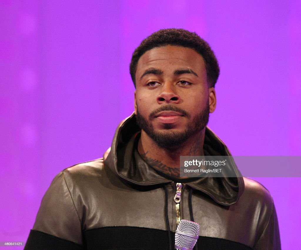Recording artist Sage The Gemini visits 106 & Park at BET studio on March 24, 2014 in New York City.