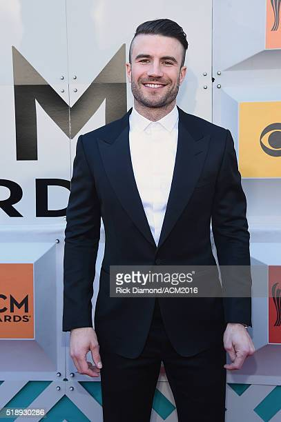 Recording artist Sam Hunt attends the 51st Academy of Country Music Awards at MGM Grand Garden Arena on April 3 2016 in Las Vegas Nevada