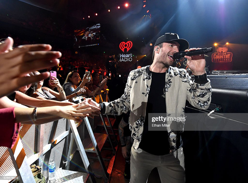 Singer <a gi-track='captionPersonalityLinkClicked' href=/galleries/search?phrase=Sam+Hunt+-+Singer&family=editorial&specificpeople=13704957 ng-click='$event.stopPropagation()'>Sam Hunt</a> performs onstage during the 2016 iHeartCountry Festival at The Frank Erwin Center on April 30, 2016 in Austin, Texas.