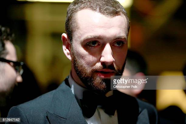 Recording artist Sam Smith the 88th Annual Academy Awards at Dolby Theatre on February 28 2016 in Hollywood California