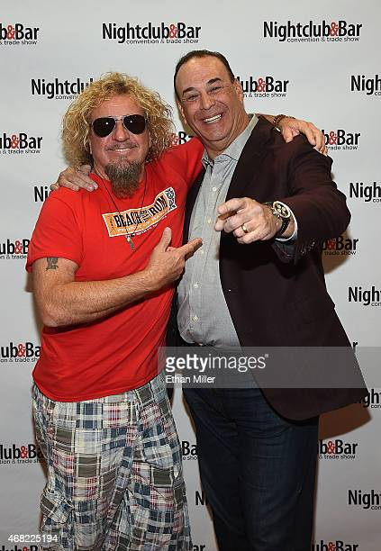 Recording artist Sammy Hagar and Nightclub Bar Media Group President host and CoExecutive Producer of the Spike television show 'Bar Rescue' Jon...