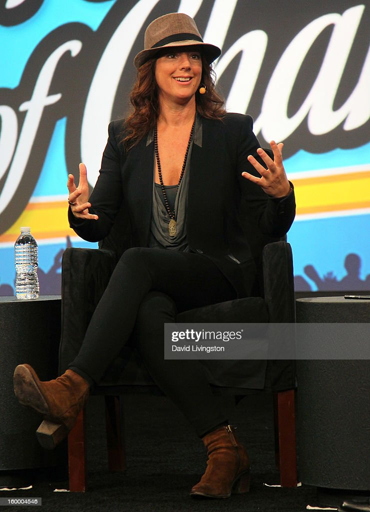 Recording artist Sarah McLachlan appears on stage at the 2013 NAMM Show - Day 1 at the Anaheim Convention Center on January 24, 2013 in Anaheim, California.