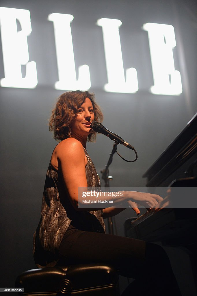 Recording artist <a gi-track='captionPersonalityLinkClicked' href=/galleries/search?phrase=Sarah+McLachlan&family=editorial&specificpeople=206514 ng-click='$event.stopPropagation()'>Sarah McLachlan</a> performs onstage at the 5th Annual ELLE Women in Music Celebration presented by CUSP by Neiman Marcus. Hosted by ELLE Editor-in-Chief Robbie Myers with performances by <a gi-track='captionPersonalityLinkClicked' href=/galleries/search?phrase=Sarah+McLachlan&family=editorial&specificpeople=206514 ng-click='$event.stopPropagation()'>Sarah McLachlan</a>, Angel Haze and Betty Who, with special DJ set by Rumer Willis at Avalon on April 22, 2014 in Hollywood, California.