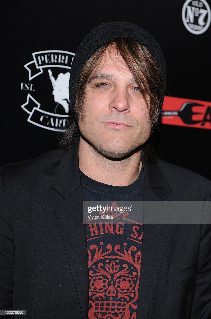 Recording artist Scott Stevens attends the PERRI INK. Cartel Store Opening on November 11, 2011 in Los Angeles, California.