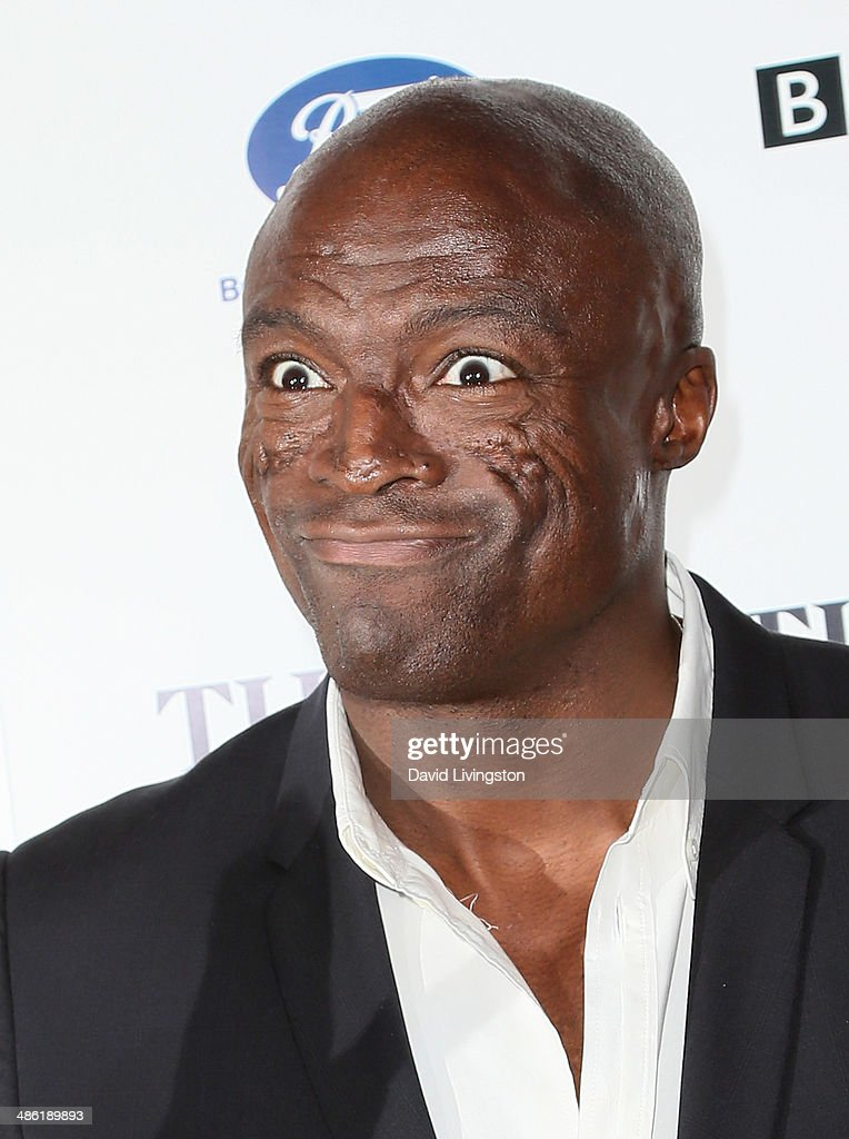 Recording artist Seal attends the 8th Annual BritWeek Launch Party on April 22, 2014 in Los Angeles, California.
