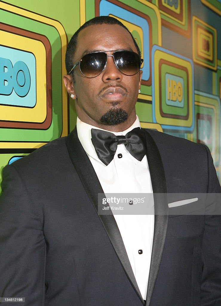 Recording artist Sean Combs attends HBO's 68th Annual Golden Globe Awards Official After Party held at The Beverly Hilton hotel on January 16 2011 in...