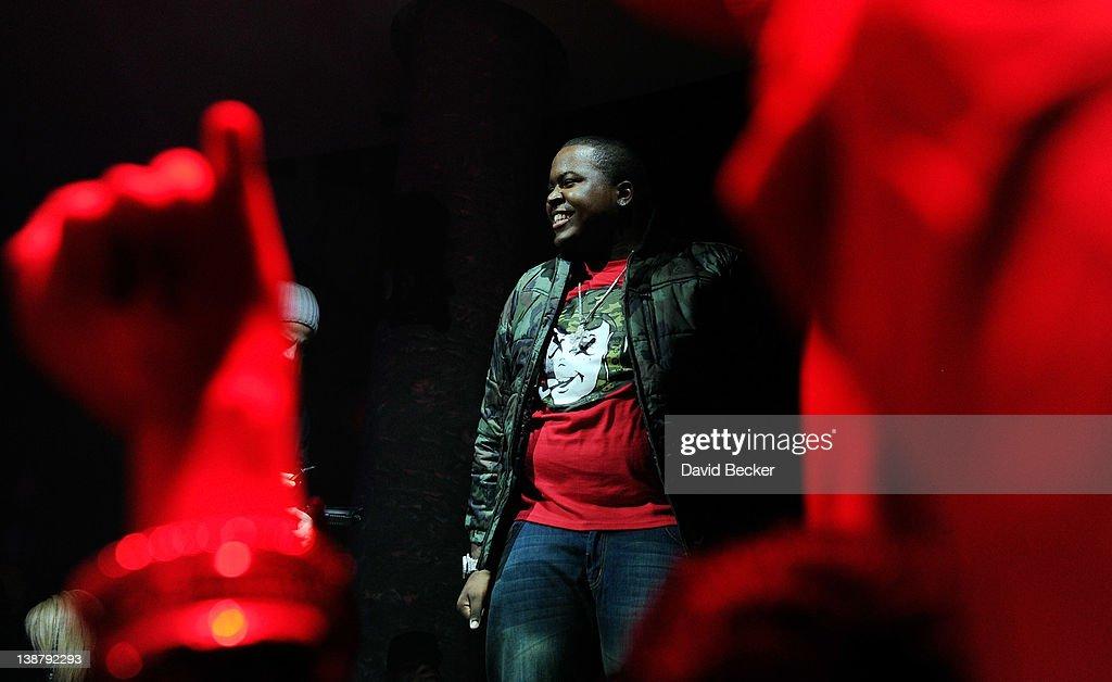 Recording artist Sean Kingston performs at the RPM Nightclub at the Tropicana Las Vegas on February 11 2012 in Las Vegas Nevada