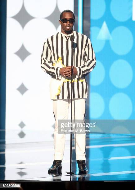 Recording artist Sean 'P Diddy' Combs speaks onstage during the 2017 BET Awards at Microsoft Theater on June 25 2017 in Los Angeles California